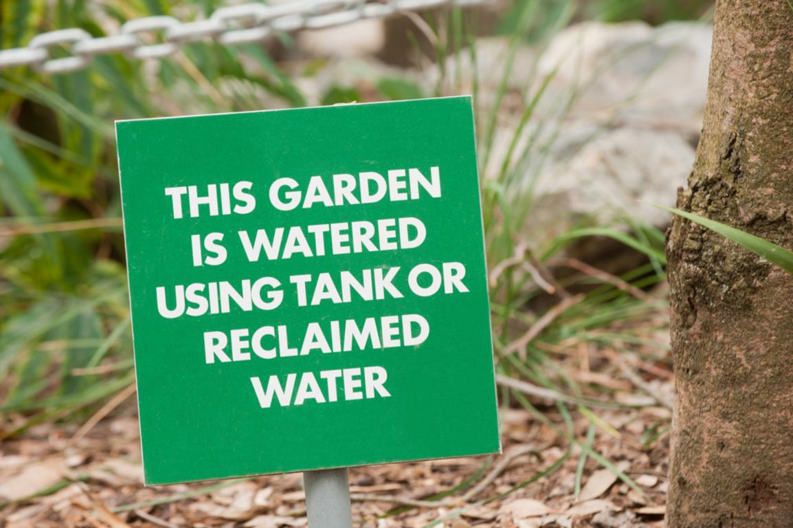 Using reclaimed water